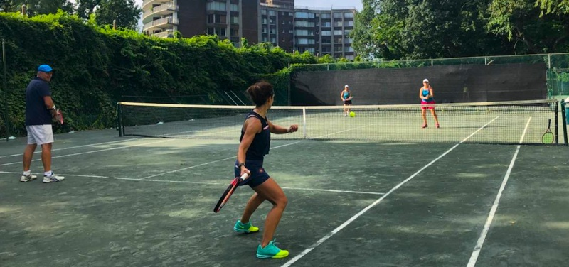 Enjoy Riverdale Tennis's casual setting and reasonably-priced clay court rental in NYC